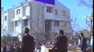 Benkovac 1990 - Franjo Tuđman - Atentat