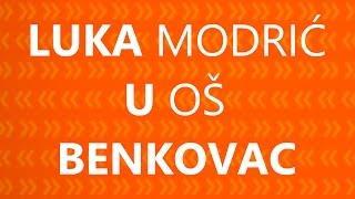 U Zdrav Mozak 7• Luka Modrić U OŠ Benkovac