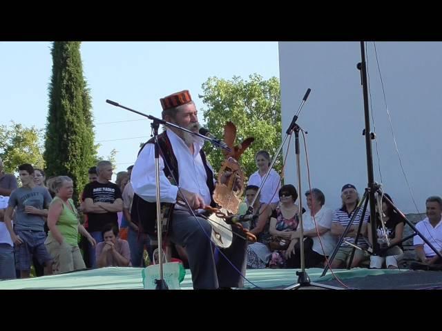 Guslar Dane Jurić - Medviđa 29.08.2015