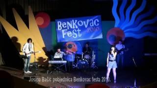 Josipa Bašić Pobjednica Benkovac Festa 2010.