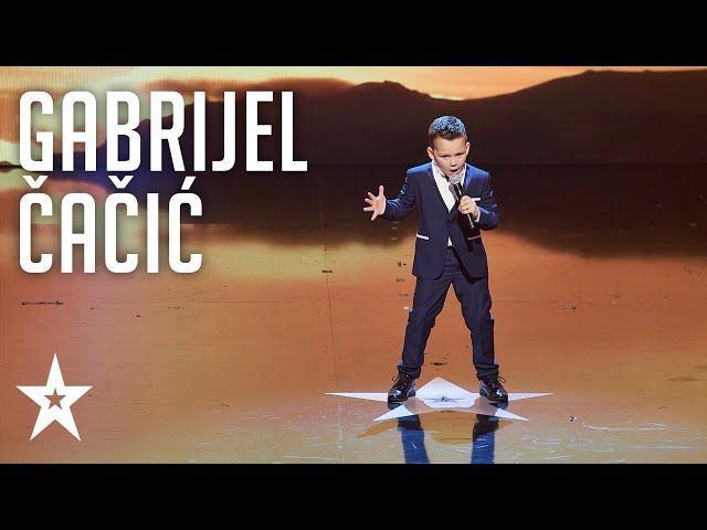 Gabrijel Čačić | Pjevanje | Supertalent 2017. | Finale